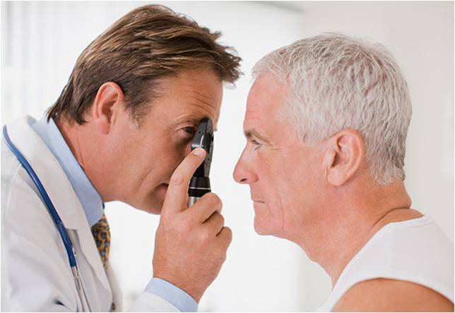 Relação diabetes e visão