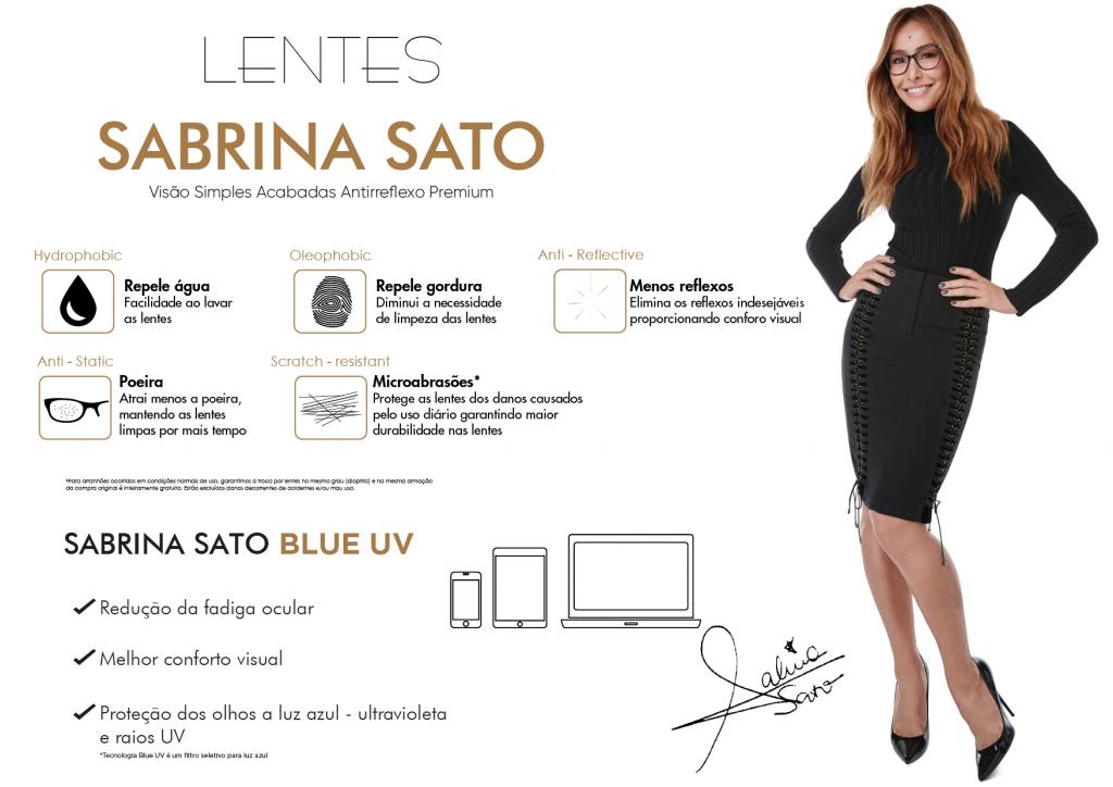 Lentes Sabrina Sato